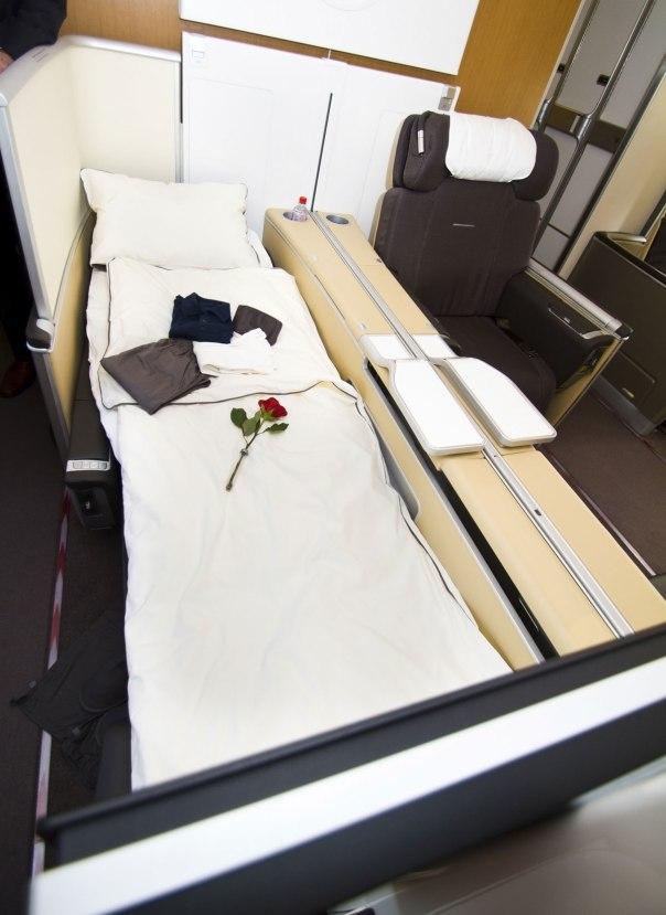 Lufthansa A380 First Class © Magnus Skjølberg | Dreamstime.com