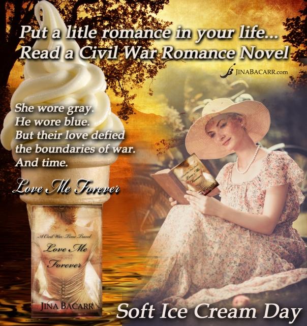 lady_reading_soft_icecream